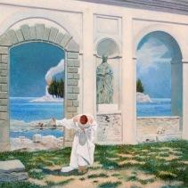 In Memoriam, 1995 – 81.5 x 86cm Acrylic on canvas