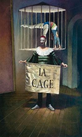 La Cage 1997 92 x 69 cm
