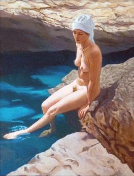 Bather with Turban 2007 49 x 39 cm