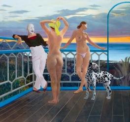 Island of Dreams 2005 110 x 103 cm
