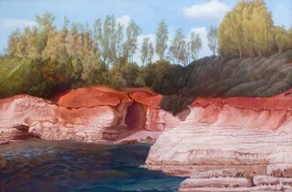 Red Rocks 2007 132 x 92 cm