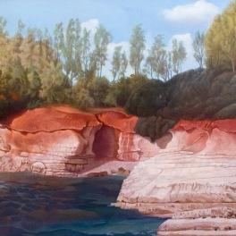 Red Rocks 2007 132 x 92 cm