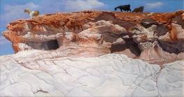Landscape with Goats 2005 92 x 59 cm