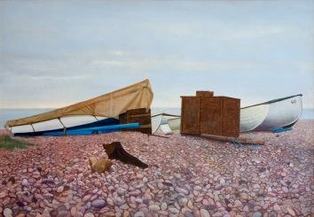 Budleigh, 2000 - 62 x 51cm Acrylic on canvas