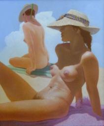L'été 2006 107 x 95 cm
