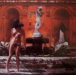 Strangers at the Villa Medici 1974