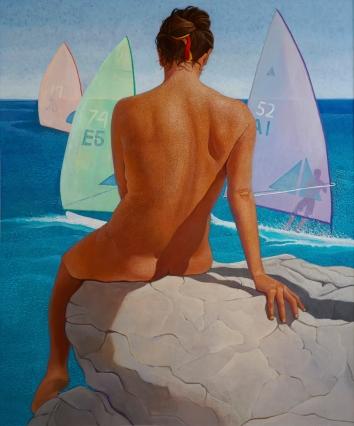 Piene 120x100 2010 – acrylic on canvas